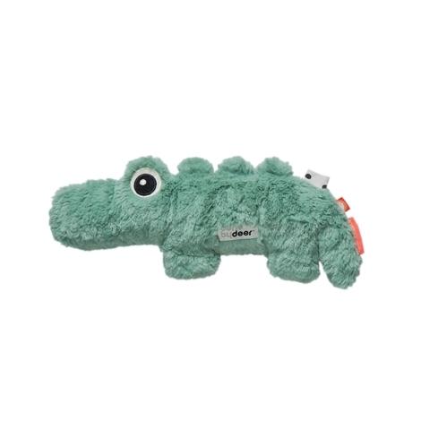 DONE BY DEER Mazlivá hračka Croco malá, zelená