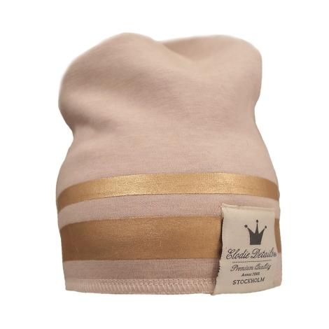 ELODIE DETAILS Bavlněná čepice Gilded Pink 0-6 m