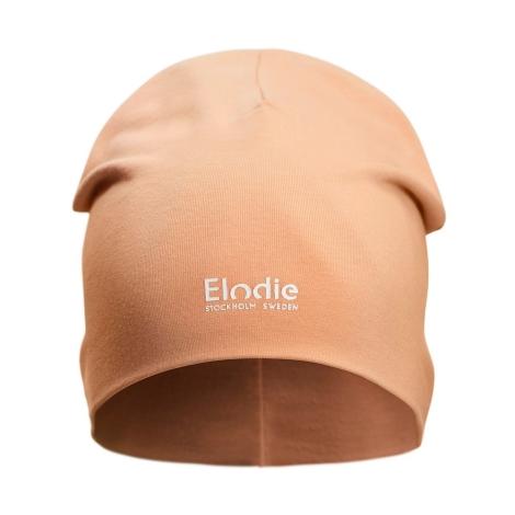 ELODIE DETAILS Bavlněná čepice Logo Amber Apricot 6 - 12 m