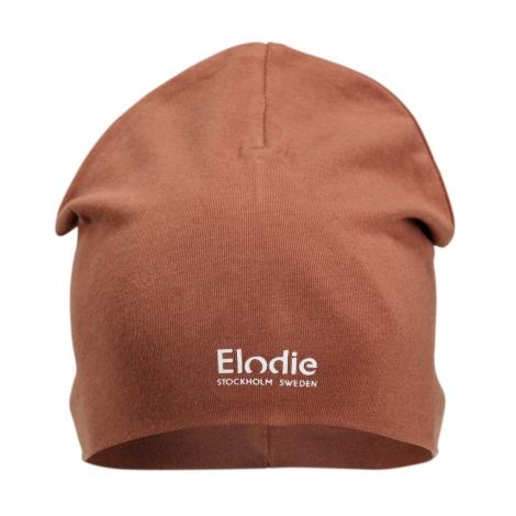 ELODIE DETAILS Bavlněná čepice Logo Burned Clay 0 - 6 m
