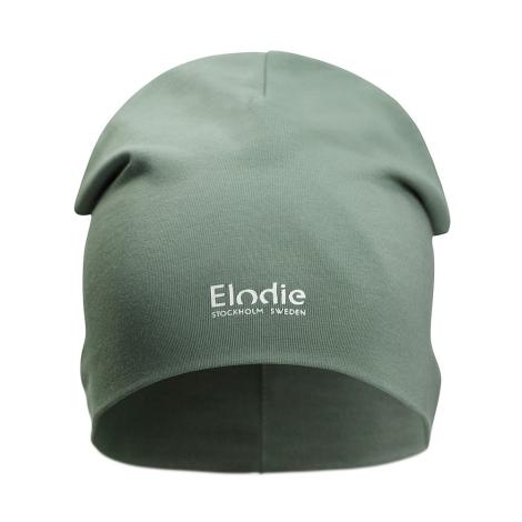 ELODIE DETAILS Bavlněná čepice Logo Hazy Jade 6 - 12 m