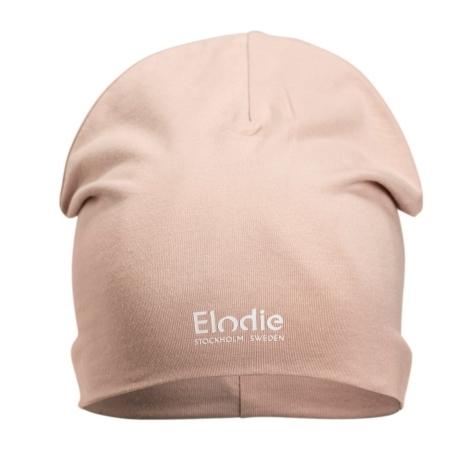 ELODIE DETAILS Bavlněná čepice Logo Powder Pink 0 - 6 m