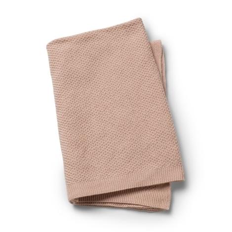 ELODIE DETAILS Pletená deka Powder Pink