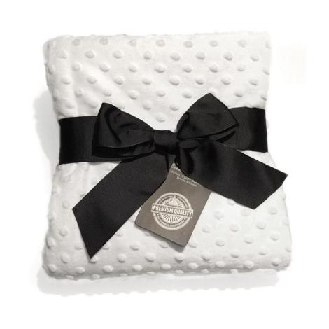 ELODIE DETAILS Sametová deka White Edition