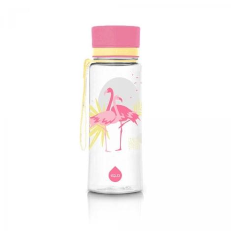 EQUA Plastová láhev Flamingo 400 ml