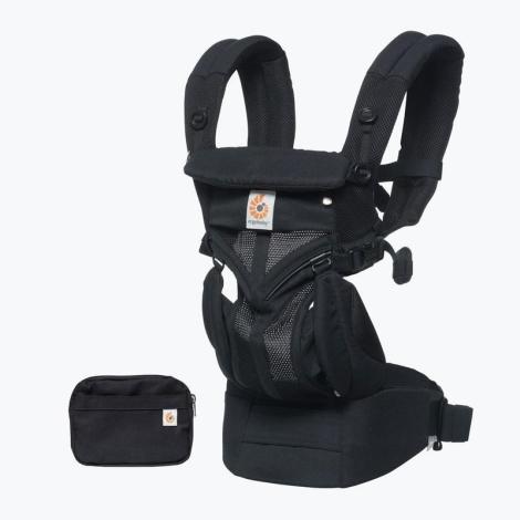 ERGOBABY Omni 360 Cool Air Mash Onyx Black