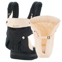 ERGOBABY Set Bundle 360 Four Position Black/Camel