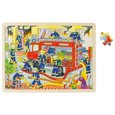 GOKI Puzzle hasiči při zásahu