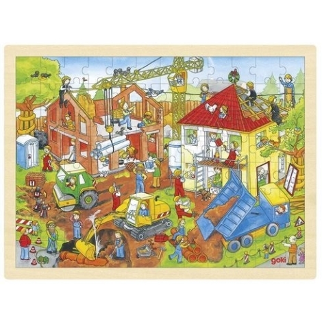 GOKI Puzzle na desce stavba