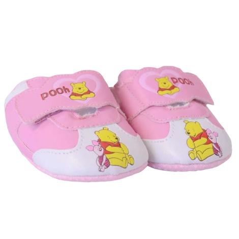 GRAZIELLA Capáčky Pooh růžová/bílá špička