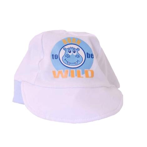 GRAZIELLA Čepice s kšiltem bílá