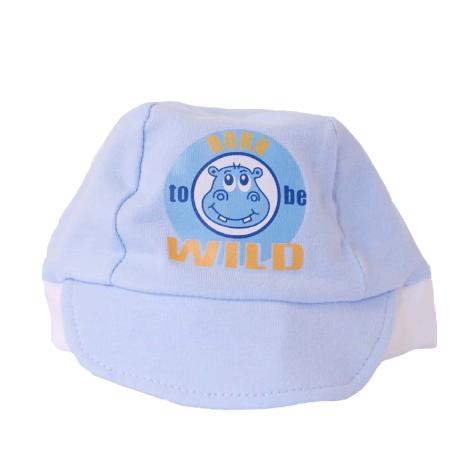 GRAZIELLA Čepice s kšiltem modrá