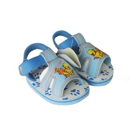 GRAZIELLA Sandále Pooh světle modrá/tmavě modrá