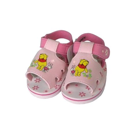 GRAZIELLA Sandále Pooh světle růžová 17