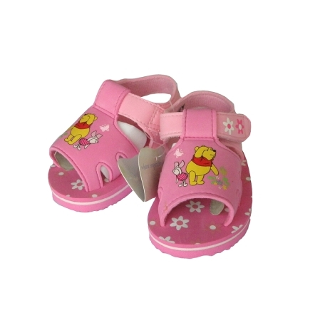 GRAZIELLA Sandále Pooh tmavě růžová 16