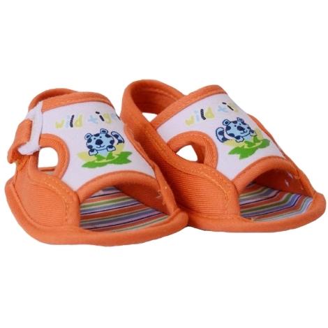 GRAZIELLA Sandále s tygříkem oranžová