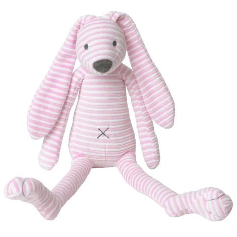 HAPPY HORSE Reece pruhovaný růžový 38 cm