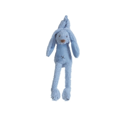 HAPPY HORSE Sytě modrý králíček Richie Hudební