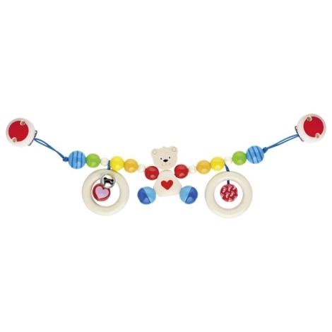 HEIMESS Závěsná hračka na kočárek Medvídek barevný