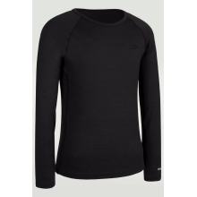 ICEBREAKER Kids Oasis Long Sleeve Crewe Black