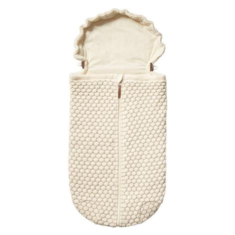 JOOLZ Essentials Fusak pletený Off White