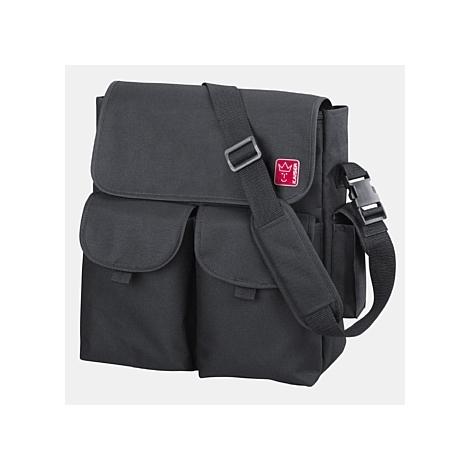 KAISER taška Messenger černá