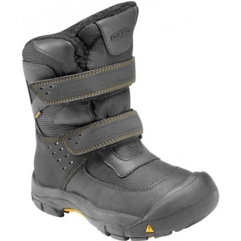 KEEN Kalamazoo High Boot, black/yellow