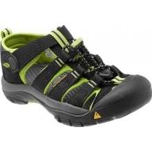 KEEN Newport H2 Black/Lime Green
