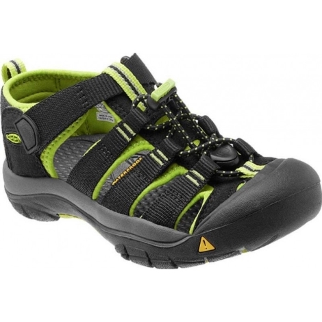 KEEN Newport H2 Black/Lime Green vel. 3