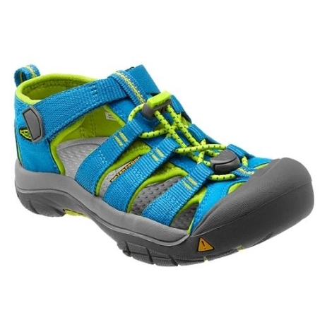 KEEN Newport H2 Swedish Blue/Lime Green vel.2