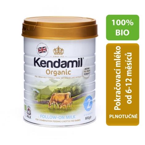 KENDAMIL 100% Bio/Organické plnotučné batolecí mléko 2 (800 g)