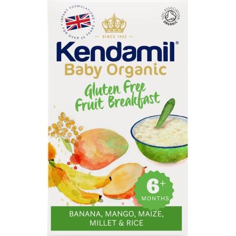 KENDAMIL Bio/Organická dětská bezlepková ovocná kaše 3 ks