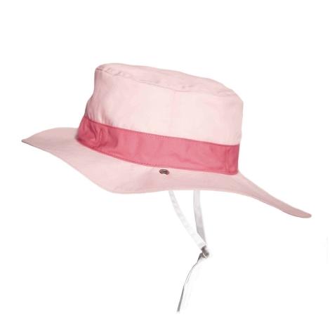 KIETLA Klobouček oboustranný s UV ochranou Panama Pink
