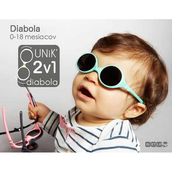 KIETLA Sluneční brýle Diabola 0-18 m. mentolová  bc56c7d422