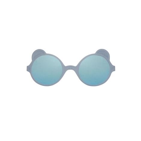 KIETLA Sluneční brýle Ourson Silver Blue 1 - 2 roky