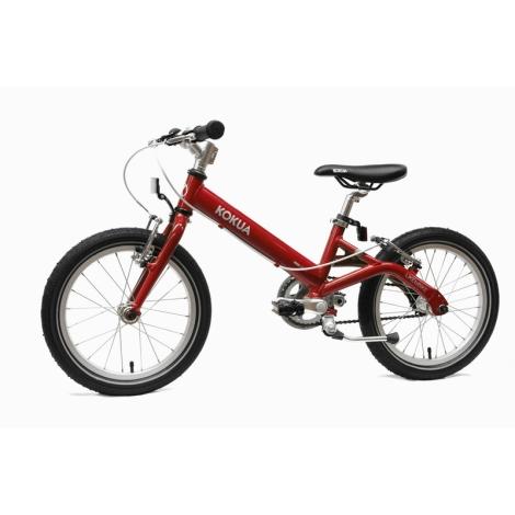 KOKUA Like to Bike 16´ červená, V-brakes