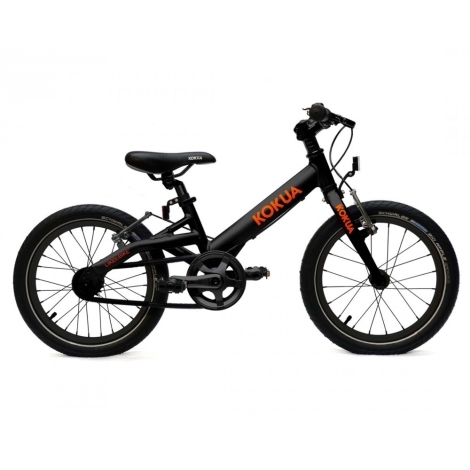 KOKUA Like to Bike 16´ Speciální edice black orange, V-brakes