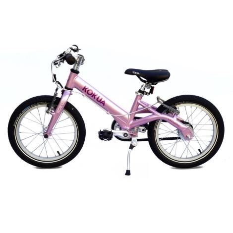 KOKUA Like to Bike 16´ SRAM Automatix růžová, V-brakes