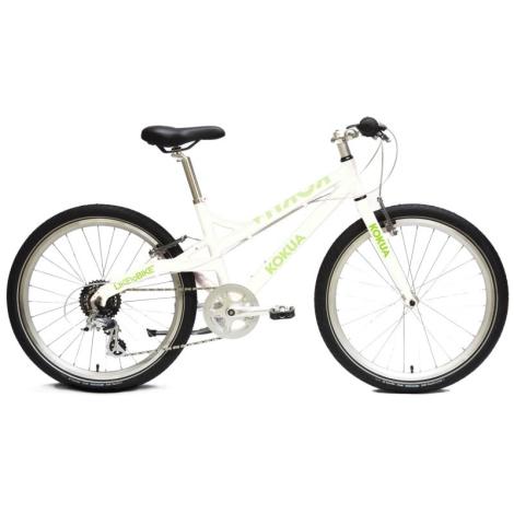 KOKUA Like to Bike 24´ Speciální edice bílo-zelená