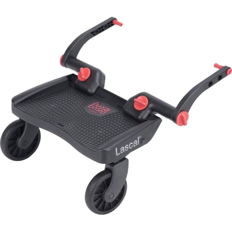 LASCAL Buggy Board Mini 3D červený