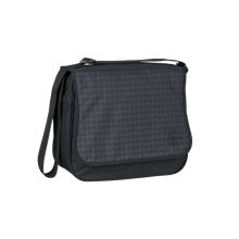 LÄSSIG Basic Messenger Bag Comb black