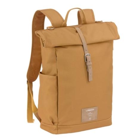 LÄSSIG Green Label Rolltop Backpack curry