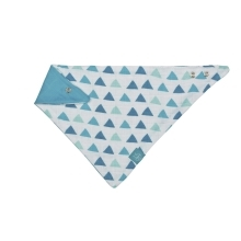 LÄSSIG Muslin Bandana royal triangle boys