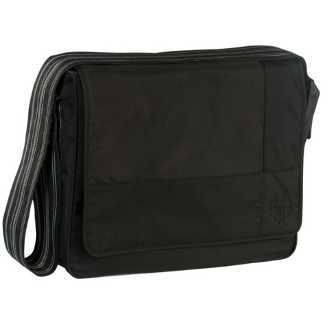 LÄSSIG taška Casual Messenger Bag Patchwork black