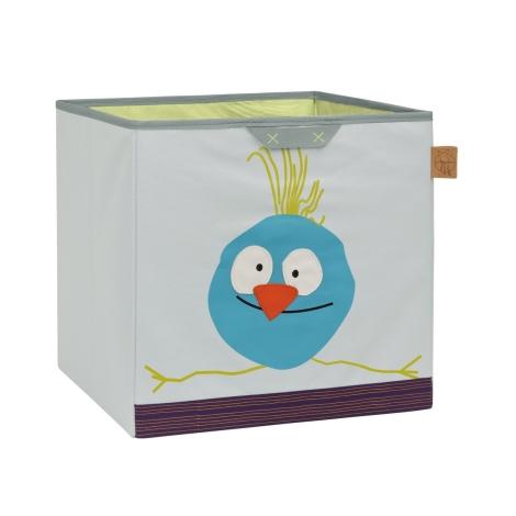 LÄSSIG Toy Cube Storage Wildlife Birdie