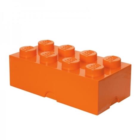 LEGO úložný box 4004 Movie oranžová