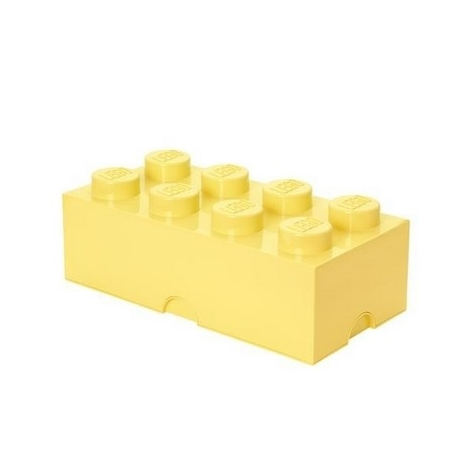 LEGO úložný box 4004 světle žlutá