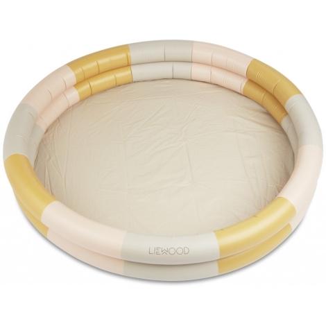 LIEWOOD Savannah Bazének Stripe Peach/Sandy/Yellow Mellow