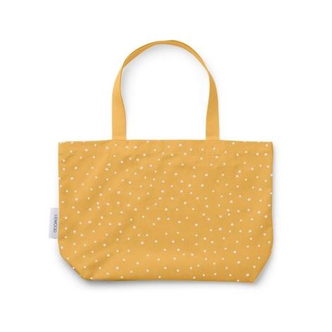 LIEWOOD Velká bavlněná taška Confetti Yellow Mellow