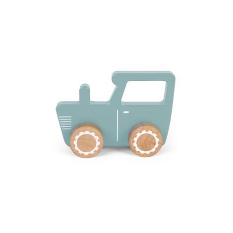 LITTLE DUTCH Traktor modrý